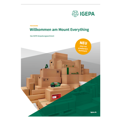 Der IGEPA Packaging Katalog